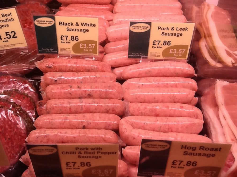 Award Winning Black & White Sausage (1 Kilo)