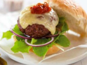 Classic BBQ Burgers with Cheese